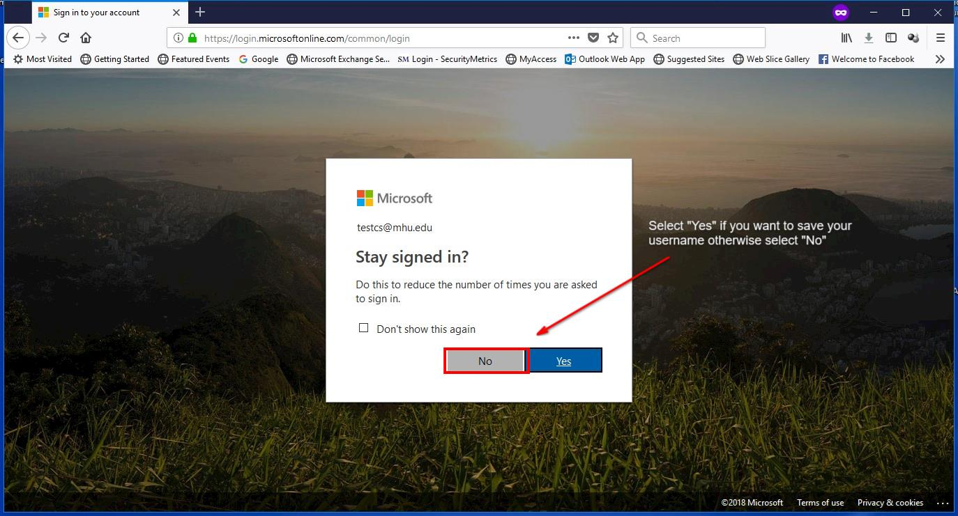 O365 Outlook (WebMail) – MHU ITS Department