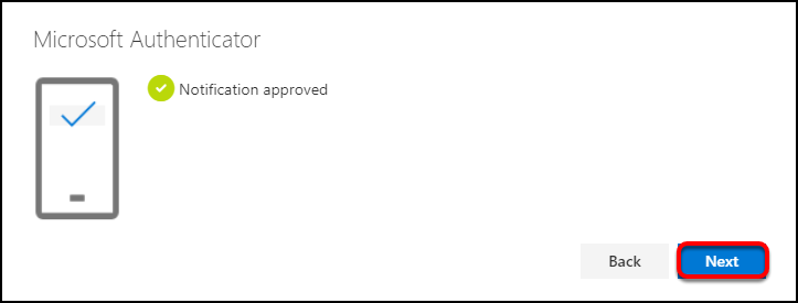 notification approved